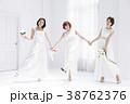 花嫁 ブライダル 新婦の写真 38762376