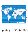 世界地図 地図 世界のイラスト 38763869
