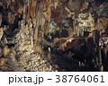 鍾乳洞 鍾乳石 石筍の写真 38764061
