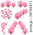 桜 カットイラスト 素材のイラスト 38766871