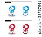 Fox Logo Design Template 38767641