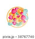 お皿 プレート 皿のイラスト 38767740