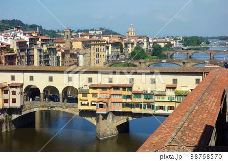 イタリア フィレンツェ ヴェッキオ橋 Italy Florence Ponte Vecchio 38768570