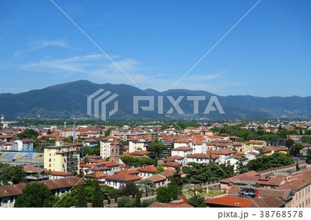 イタリア ピサの斜塔頂上からの街並み Italy Townscape 38768578