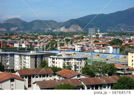 イタリア ピサの斜塔頂上からの街並み Italy Townscape 38768579