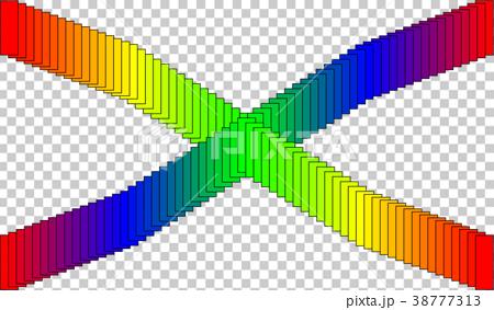 グラデーションクロス-p002 38777313