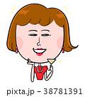 お酒 女性 ドレスアップのイラスト 38781391
