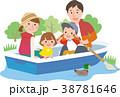 ボート遊び家族 38781646