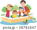 ボート遊び家族 38781647