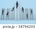 ビジネス 職業 ハシゴの写真 38794203