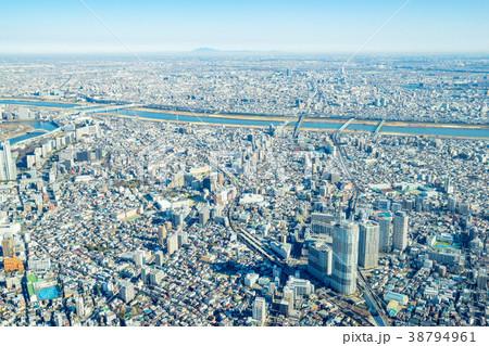 【東京都】都市風景 38794961