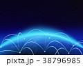 接続 グローバル インターネットのイラスト 38796985