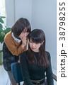 人物 女性 話すの写真 38798255