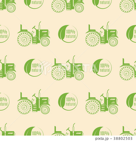 Organic vegan healthy food eco restaurant logo 38802503