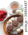 チョコレートケーキ ケーキ カップケーキの写真 38804487