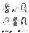 イコン ビューティー 美人のイラスト 38805152