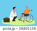 イラスト 挿絵 医師のイラスト 38805156