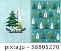 クリスマス 樹木 樹のイラスト 38805270