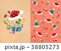 クリスマス ギフト プレゼントのイラスト 38805273