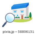 家探し 住宅 一軒家のイラスト 38806131