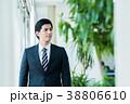 ビジネスマン スーツ 会社員の写真 38806610