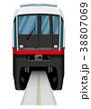 モノレール ゆいレール 電車のイラスト 38807069