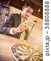 ビジネス 職業 ダーツボードの写真 38808888