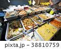 バンコクの屋台のお惣菜 38810759