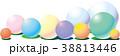 カラーボールの背景 38813446