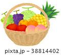カゴ盛り合わせ(夏のフルーツ01) 38814402