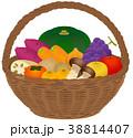 野菜 フルーツ 籠のイラスト 38814407