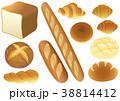 パンのセット 38814412