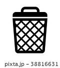 ゴミ箱・エコ・リサイクル アイコン 38816631