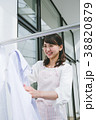 女性 主婦 洗濯の写真 38820879