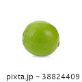 fresh lime on white background 38824409