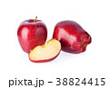 red apple on white background 38824415