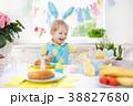 イースター 復活祭 ブレックファーストの写真 38827680