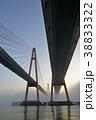 霧 橋 夜明けの写真 38833322