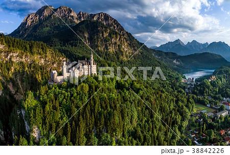 Neuschwanstein Castle Bavarian Alps Germany 38842226