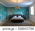 ベッド 寝台 寝床のイラスト 38843796