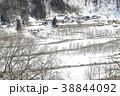 雪景色 乗り物 列車の写真 38844092