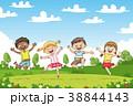 子供 こども達 児童のイラスト 38844143