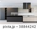 インテリア キッチン 厨房のイラスト 38844242