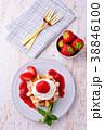 イチゴのワッフルケーキ 38846100