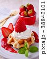 イチゴのワッフルケーキ 38846101