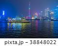 浦東 夜景 上海の写真 38848022