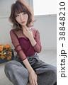 女性 ポートレート ボブの写真 38848210