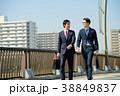 ビジネスマン 歩く ビジネスの写真 38849837