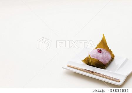 日本の生菓子 さくら餅 春の和菓子 38852652