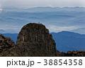 奥穂高岳から見るジャンダルムと飛騨高山方面 38854358